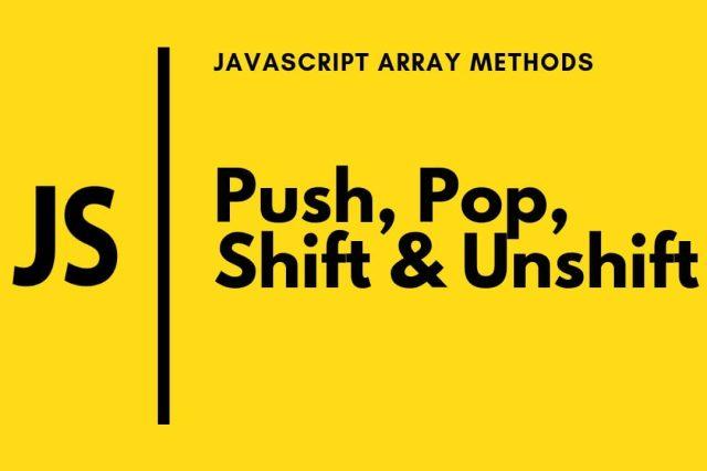 6 cách để xoá các phần tử nằm trong Array bằng Javascript