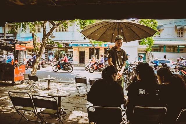 Cafe hè phố