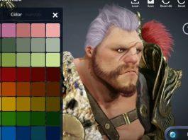 Tạo hình nhân vật trong game Black Desert Mobile