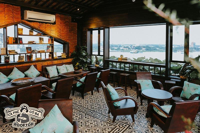 6 quán cà phê tầng thượng ngắm Sài Gòn cực Chill