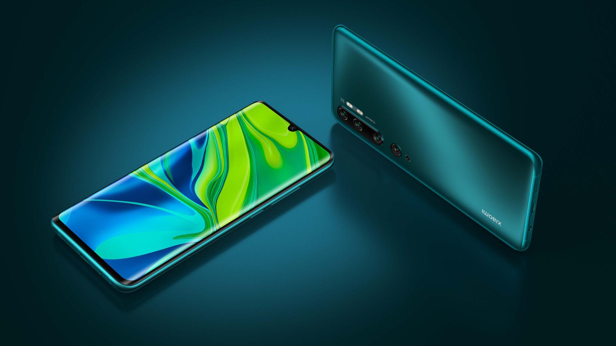 Xiaomi Mi Note 10 Pro - 5 điện thoại độc đáo