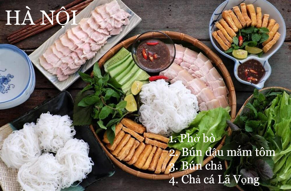 Món ăn đặc sản của 63 tỉnh thành, bạn đã biết?