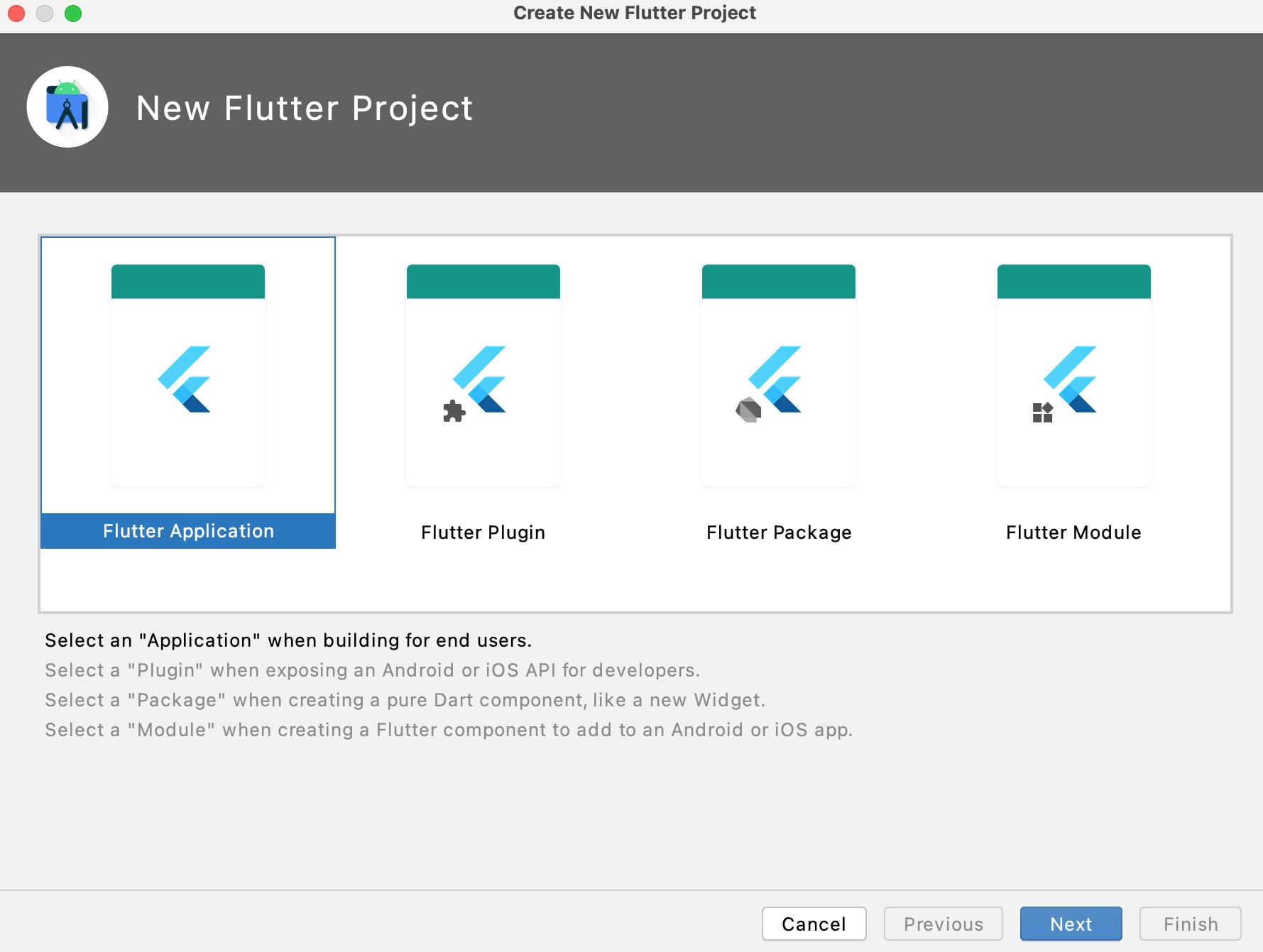 Chọ tiếp Flutter Application
