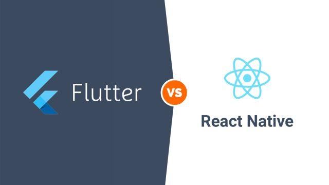 Sự khác biệt giữa Flutter và React native