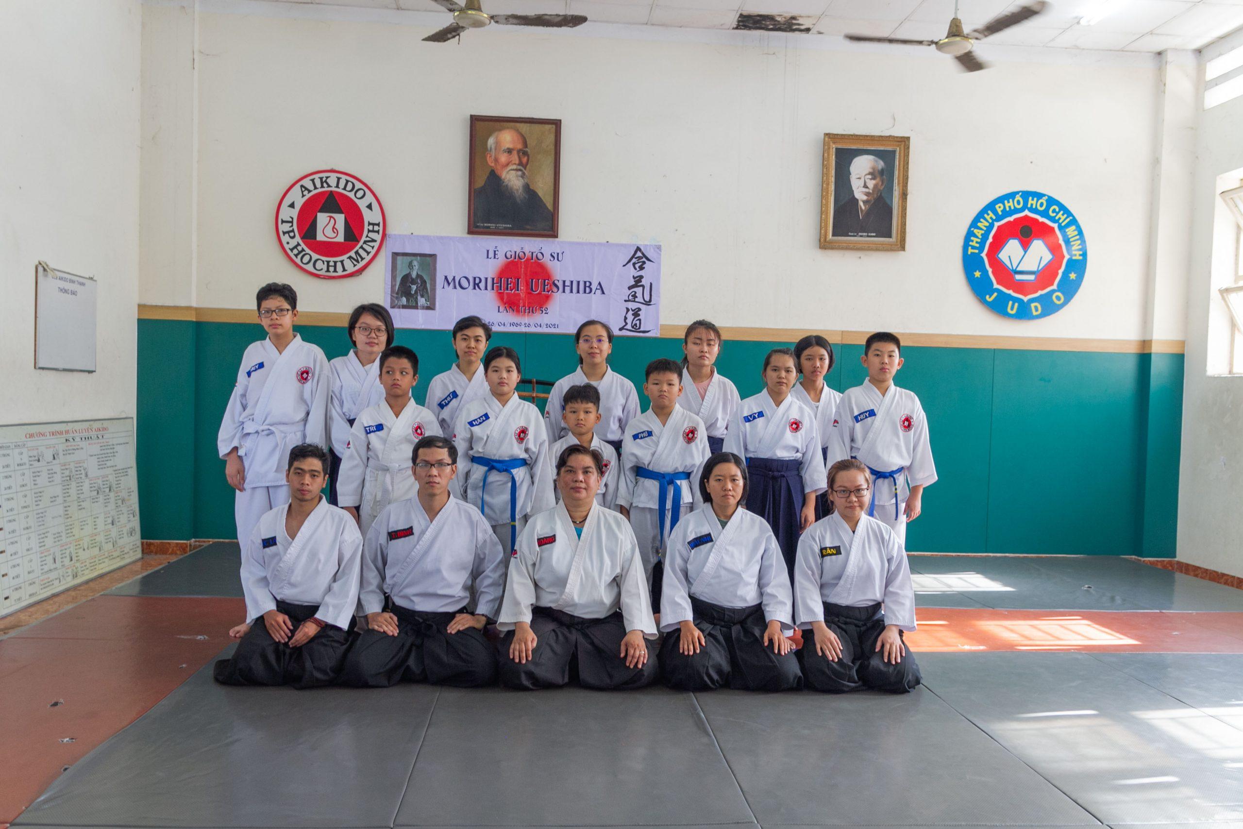 CLB Aikido Bình Thạnh
