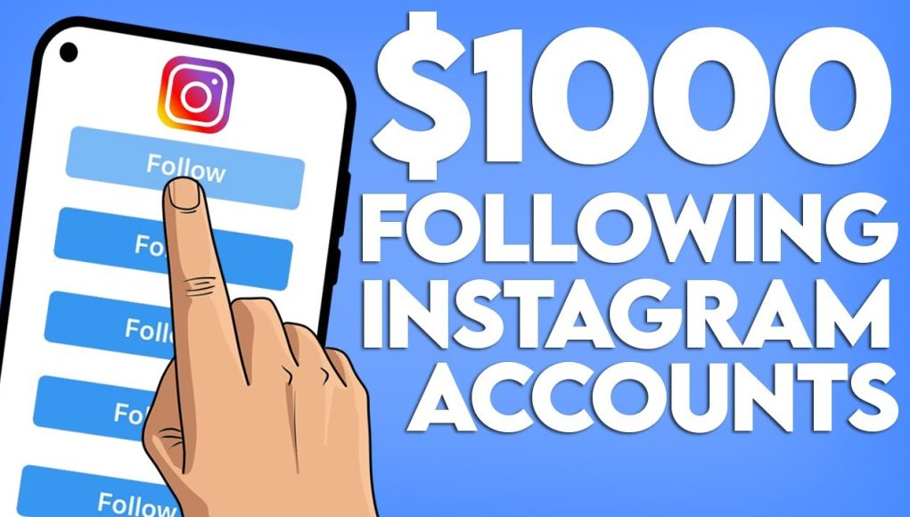 How to Earn $1000 from Instagram in 2021(whether 1k or 100k Followers)