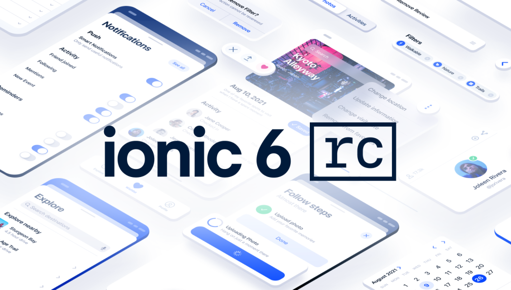Ionic 6.0 Release Candidate